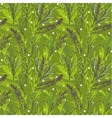 Botanical seamless pattern with French vector image