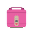 cooker rice icon pot electric kitchen vector image