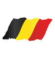 belgium flag design vector image