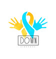 creative logo for medical center or organizations vector image vector image
