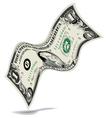 Dancing Dollar Money background vector image vector image