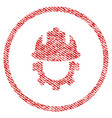 Development helmet fabric textured icon