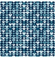ethnic blue tribal seamless pattern vector image vector image