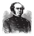 general henry w benham vintage vector image vector image
