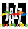 jazz vector image vector image