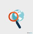 Modern Flat design icon Business working el vector image vector image