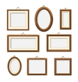 Picture photo frames vector image
