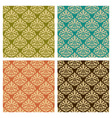 set patterns vector image vector image