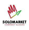 Solomarket Design vector image vector image