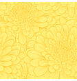 Beautiful seamless pattern with hand-drawn flowers vector image