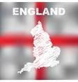 English Abstract Map vector image