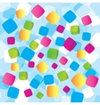 Abstract background with geometrical objects vector image vector image