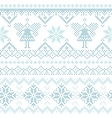 Christmas Scandinavian Card - for invitation vector image vector image