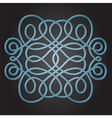 Decorative Knot vector image vector image