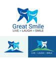 dental care great smile vector image vector image