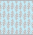 oak leaves seamless pattern hand drawn vector image vector image