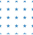 starfish icon pattern seamless white background vector image vector image