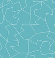abstract blue mosaic seamless pattern vector image