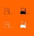 electric loader icon vector image vector image