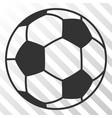 football ball eps icon vector image vector image