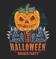 halloween pumpkin new artwork vector image vector image