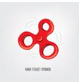 hand fidget spinner toy vector image
