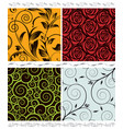 seamless collection vector image vector image