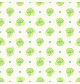 seamless geometric pattern with doodle vector image
