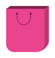 shopping bag cartoon vector image
