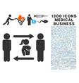 swingers exchange girl icon with 1300 medical vector image vector image
