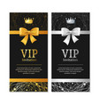 Vip invitation and card set