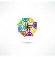 Wine glass icon vector image