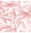 Abstract Pink Polygonal Pattern vector image vector image