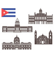 Cuba vector image vector image