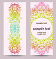 ethnic card design vector image