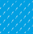 spear pattern seamless blue vector image vector image