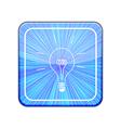 version idea icon eps 10 vector image vector image