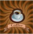 coffee menu vector image