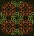 seamless pattern of simple mandalas vector image