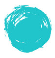 brush stroke circle shape vector image vector image