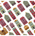 buildings old town antique architecture vector image vector image