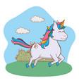 cute magic cartoon vector image vector image