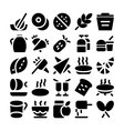 Food Icons 6 vector image vector image