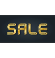 Luxury sale of gold jewelry letters