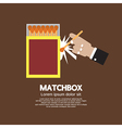 Matchbox Container vector image vector image