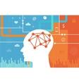 neuroscience brain science generation y millenials vector image