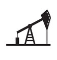 oil pump icon on white background oil pump sign vector image