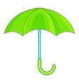 Umbrella icon cartoon style vector image vector image
