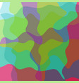 abstract wavy colorful background for design vector image vector image