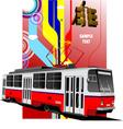 al 0604 tram 02 vector image